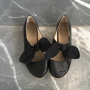 Zara girls flats black size 33